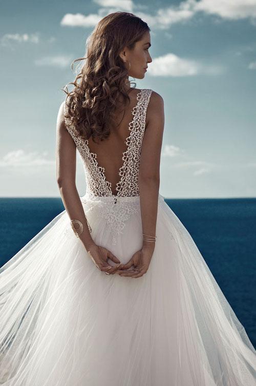 robe de mariée style ballerine, mariage 2019