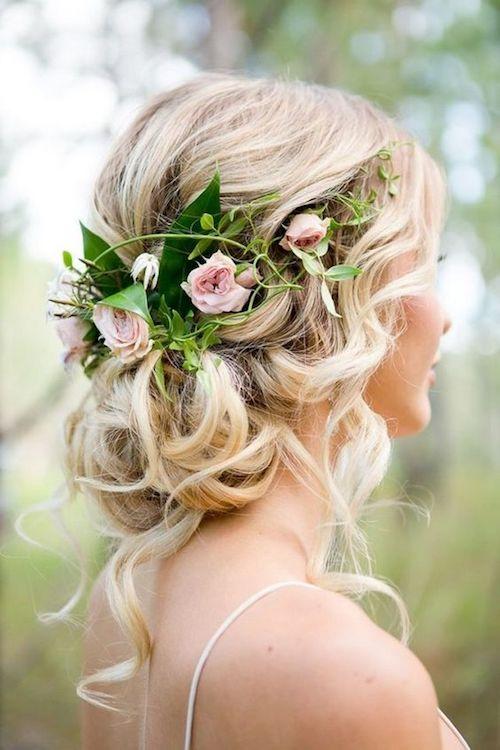 chignon coiffure mariage, tendance coiffure mariage