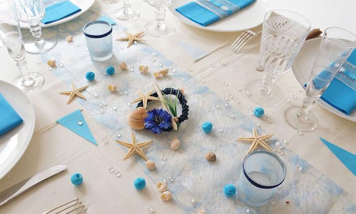 mariage thème mer, mariage mer