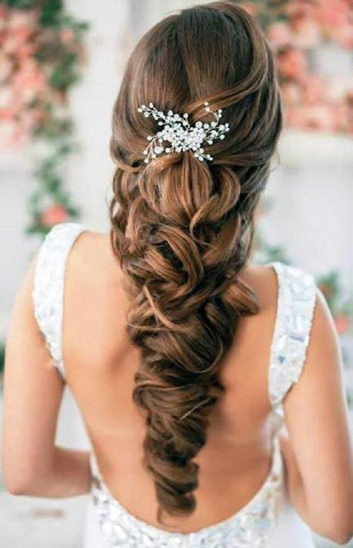 tresses coiffures mariage