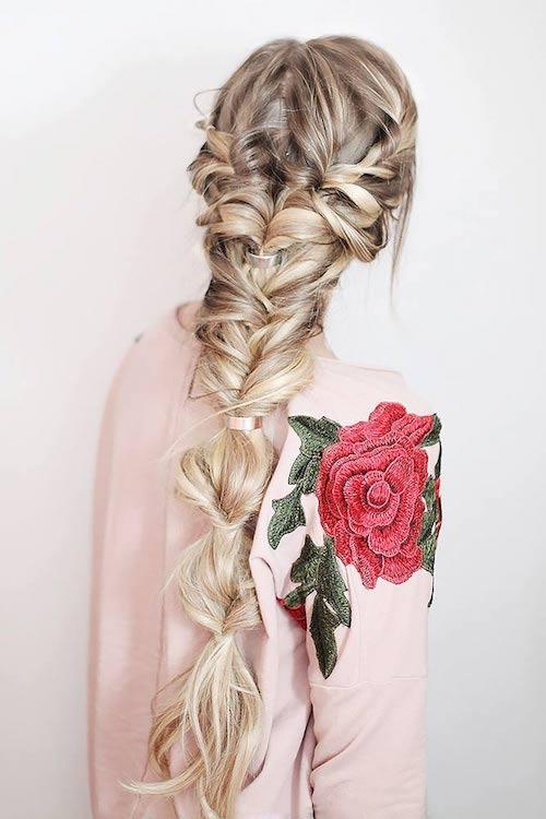 tresses coiffure mariage