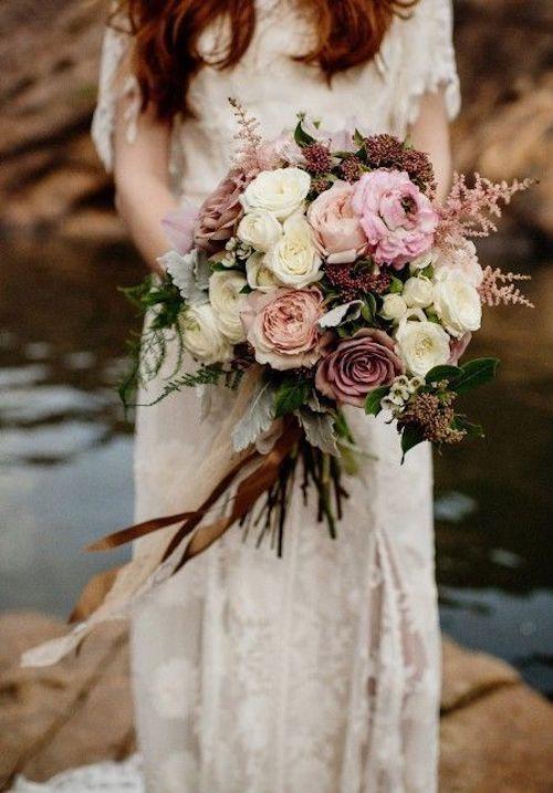 bouquet de mariée mariage hiver