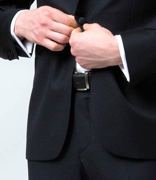 ceinture homme mariage