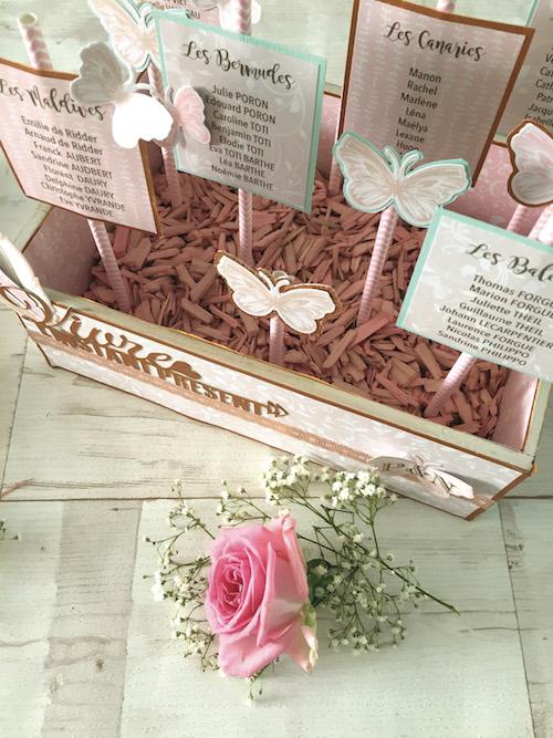 DIY plan de tables mariage