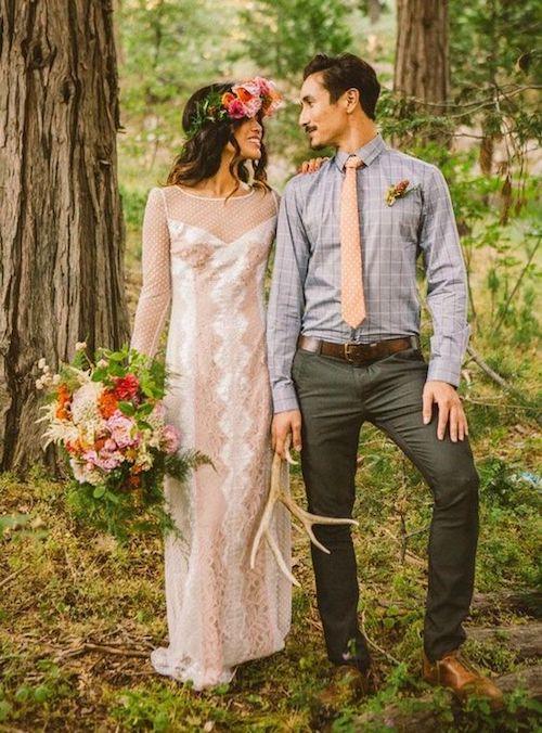costume mariage champêtre homme