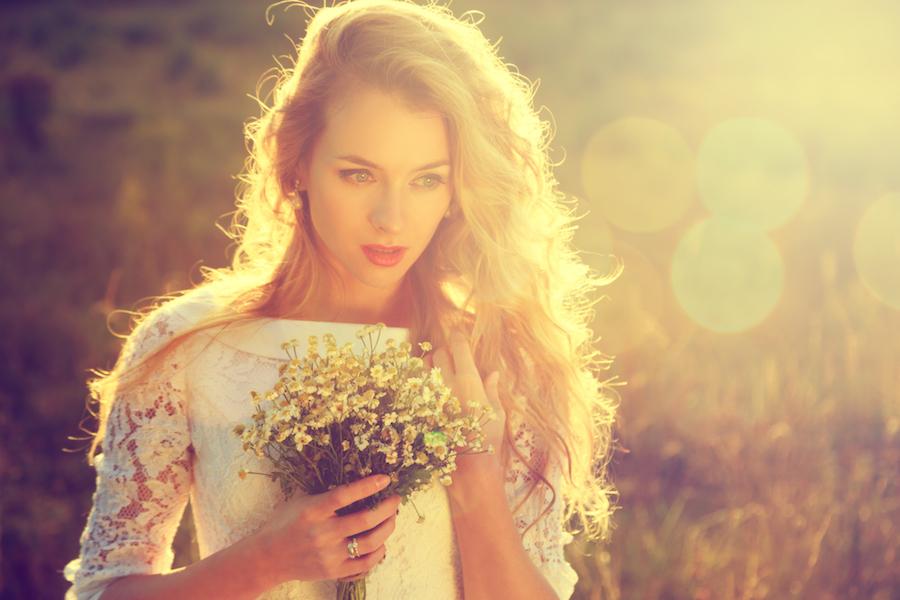 Modele de coiffure mariage cheveux long