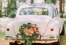 comment décorer la voiture des mariés ?