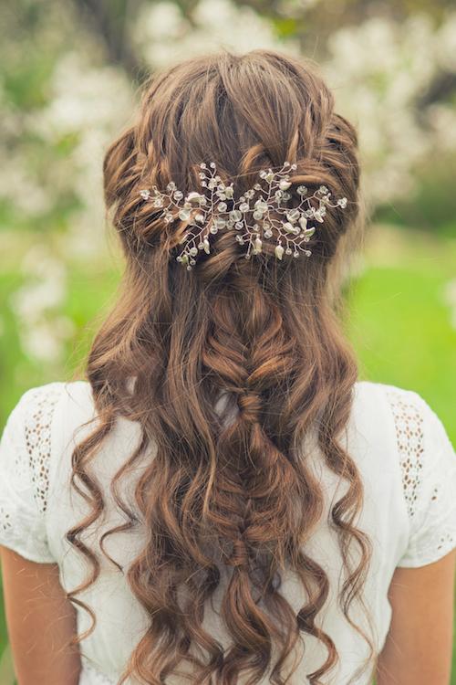 idées coiffure mariage bohème