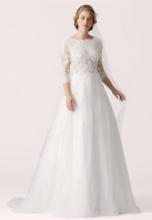 robe de mariée en dentelle Lilly collection 2019