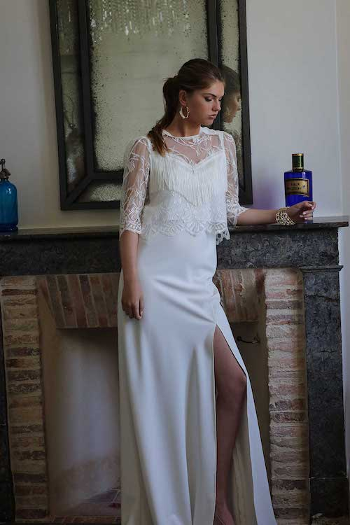 robes de mariée deux pièces 2020