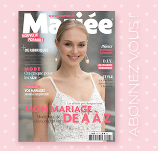 abonnement mariée magazine