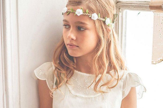 coiffure mariage pour petite fille