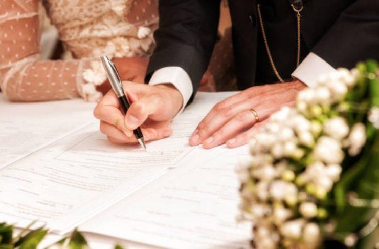 démarches administratives mariage civil