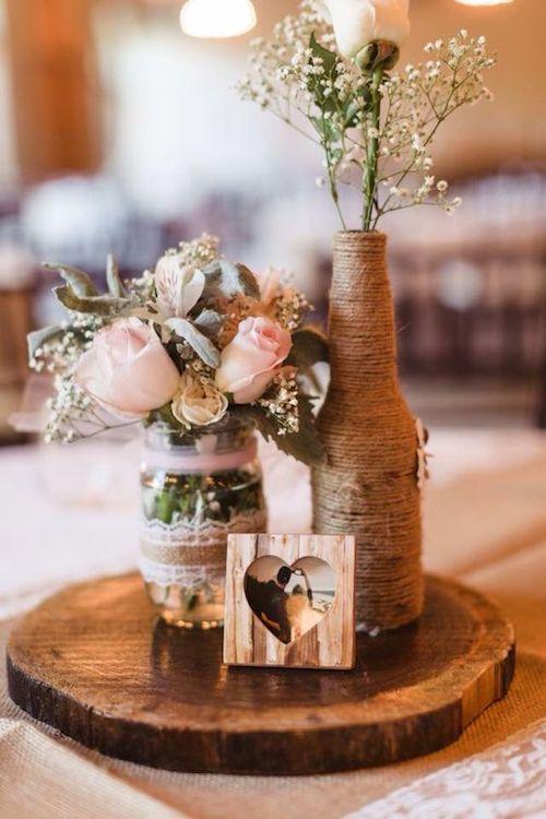 décoration table de mariage