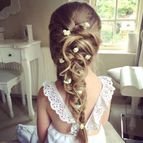 coiffure mariage petite fille - conseils coiffure et