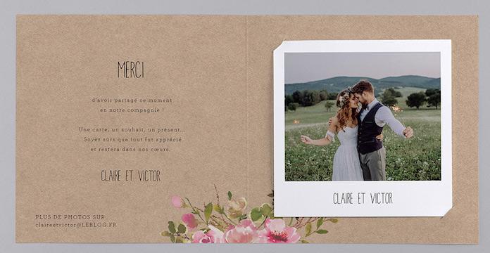 papeterie mariage champêtre