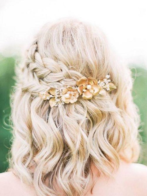 5 idées de coiffure mariage cheveux mi-long