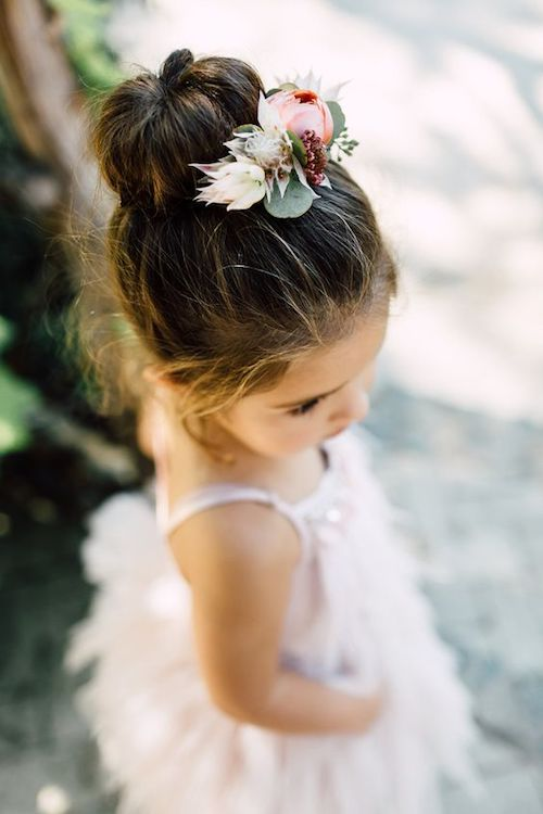 Idee coiffure bebe fille cheveux court
