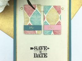 DIY mariage, save the date