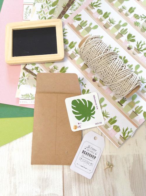DIY mariage pochette mouchoirs