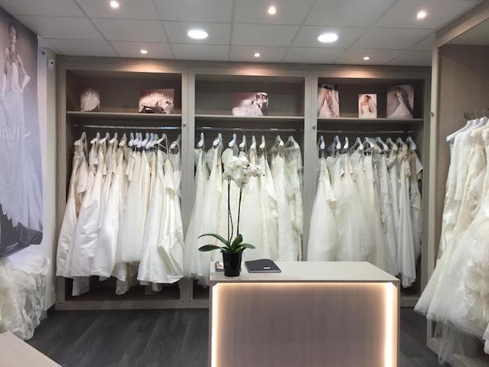 boutique de robes de mariée La Mariée Parisienne