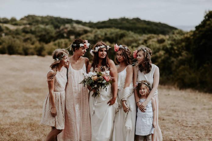 tenue invitée mariage bohème