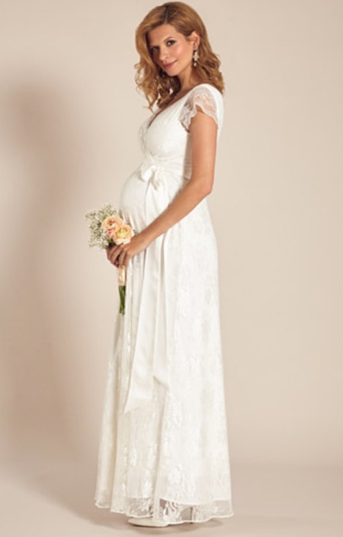style attrayant paquet à la mode et attrayant boutique pour officiel Robes de mariée pour femme enceintes : les plus beaux ...