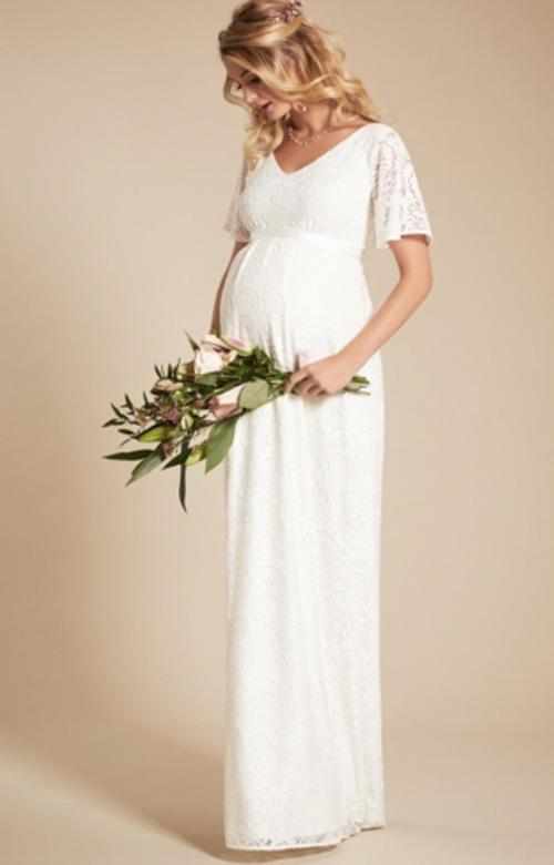 Robes de mariée pour femme enceintes : les