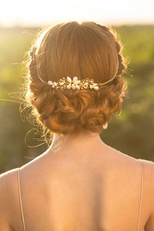 idée coiffure invitée mariage