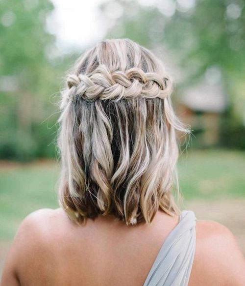 Permalink to Coiffure Pour Invitee Mariage Cheveux Court