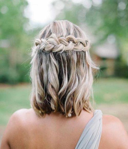 Coiffure Pour Invitee Mariage Cheveux Court