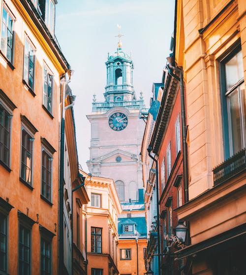 lune de miel à Stockholm