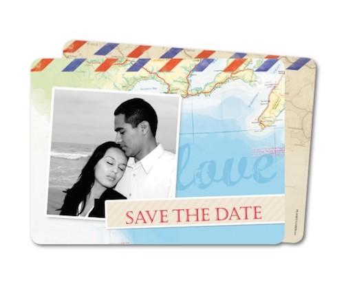 papeterie mariage thème voyage