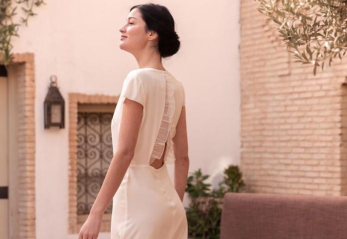 robe courte et simple pour mariage civil