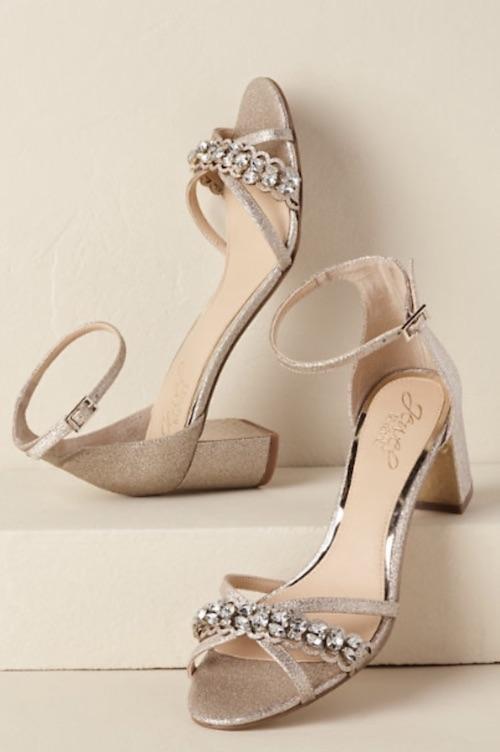 chaussures tendances mariée 2020
