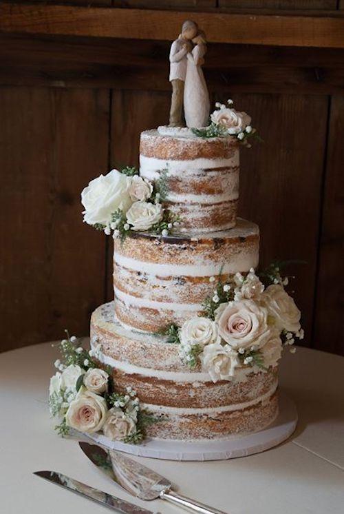 gâteau mariage vintage