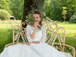 robe de mariée églantine créations, collection 2020