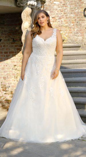 robe de mariée grande taille Ladybird