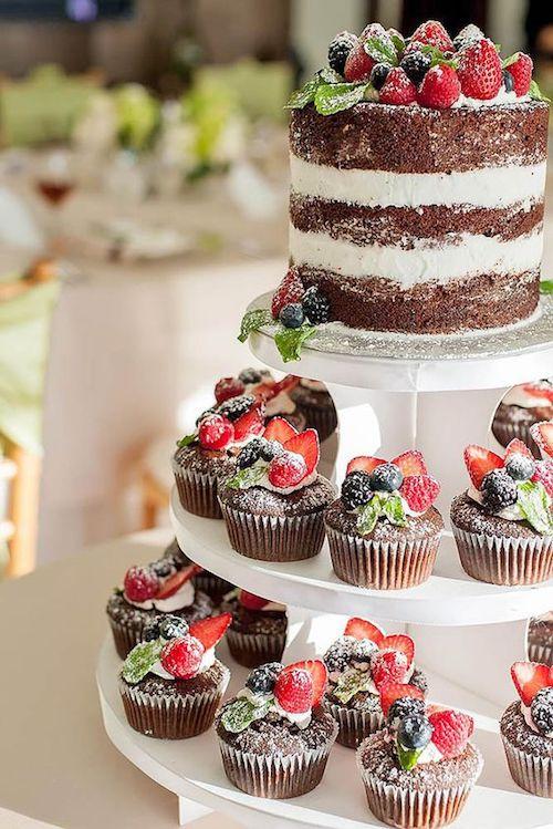 pièce montée mariage cupcakes chocolat