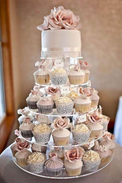pièce montée mariage cupcakes