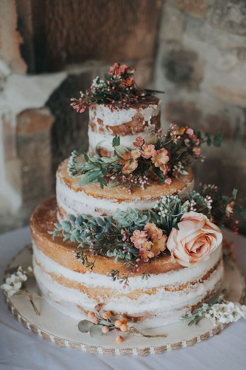 wedding cake mariage champêtre