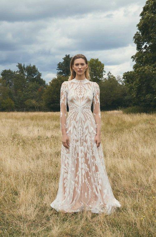 robe de mariée bohème 2021