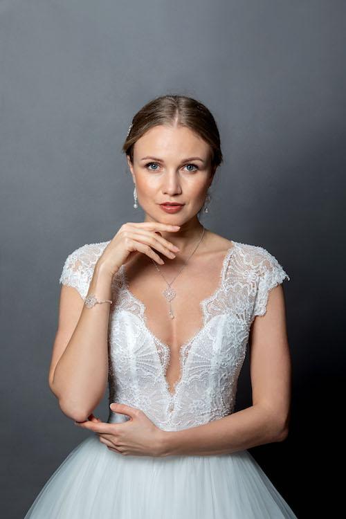 robe de mariée collection privée 2020 églantine créations