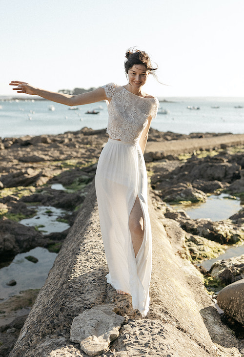 robe mariée mariage plage 2021