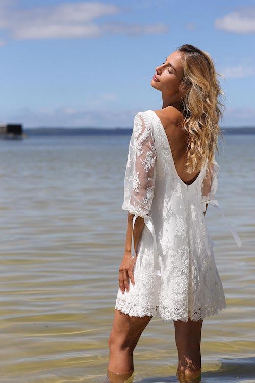 robe de mariée plage 2021