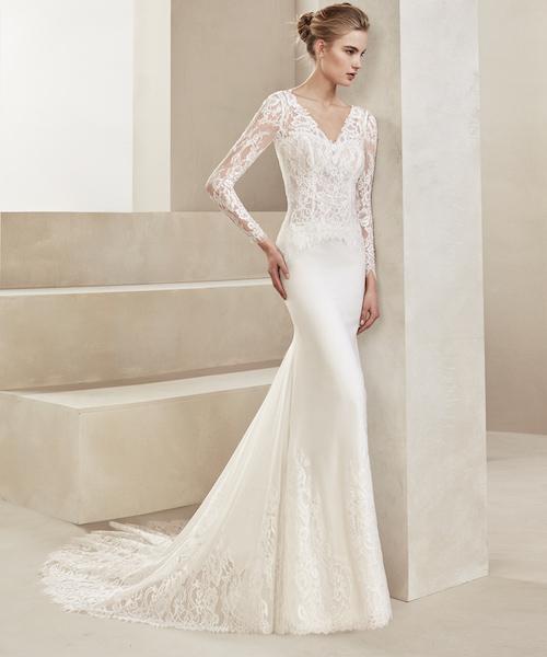 robe de mariée hiver