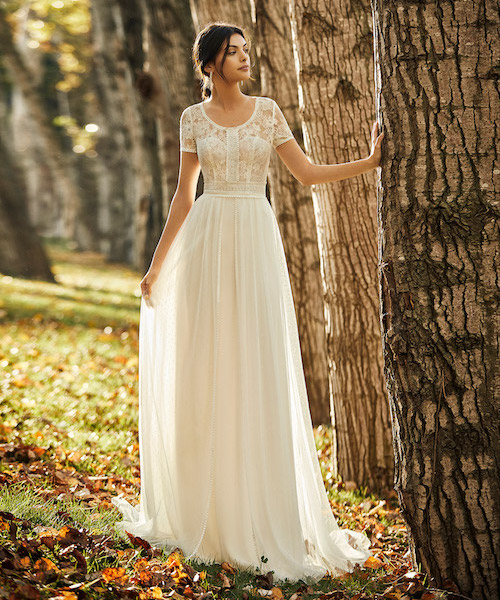 robe mariee mariage champêtre