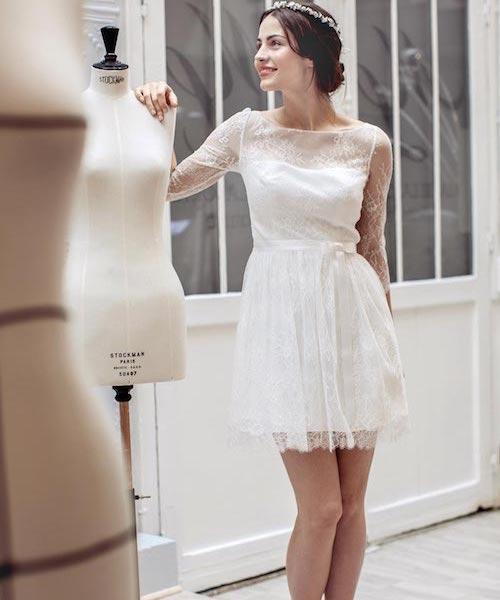 robe de mariée mariage civil