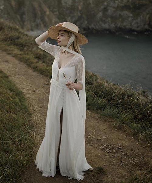 robe de mariée vintage