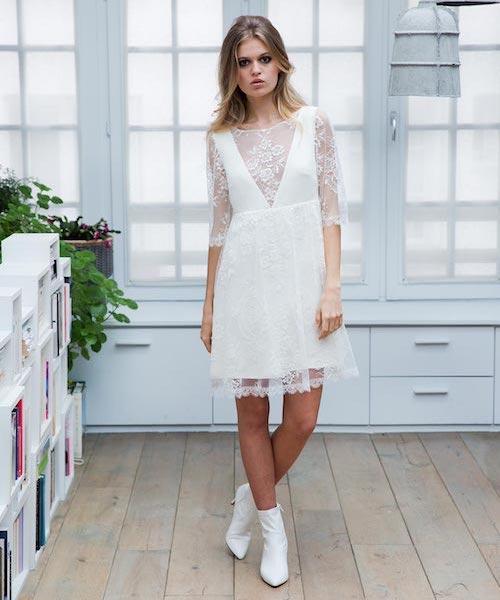 robe de mariée civile